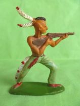 Starlux - Indians - Series Regular 57 - Footed firing rifle standing (ref 141)