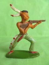 Starlux - Indians - Series Regular 57 - Footed firing rifle standing (ref 141)