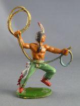 Starlux - Indiens - Série Luxe 55/56 - Piéton Lasso (réf 2148)