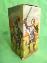 Starlux - Middle-age - serie 58 - ref  6009 - Empty Box for footed crusader with hatchet