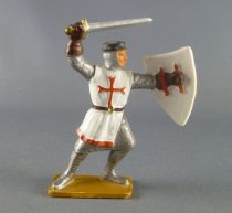 Starlux - Middle-age - serie 60 - ref 6019 (white base) - Footed templar 2 sd version