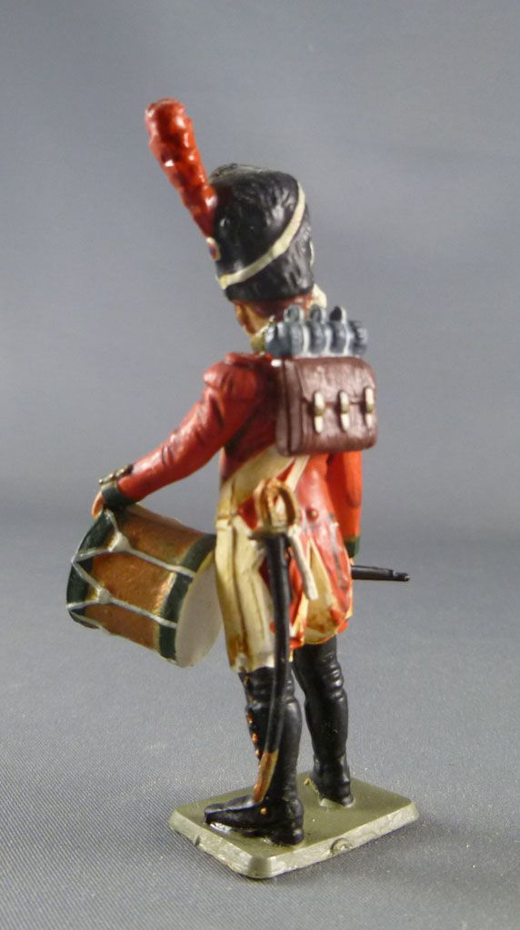 Starlux - Napoleonic - Footed 2sd Régiment 1806 - Drumer (ref SES32/FH60183)