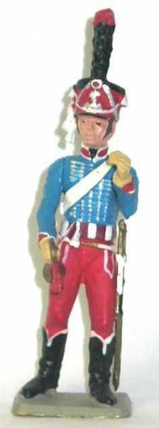 Starlux - Napoleonic - Footed Chasseur - Bugler 3rd rgt (ref 74/ES25/FH60063)