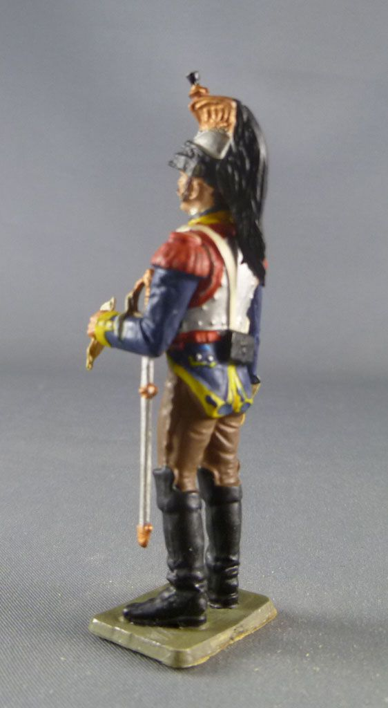 Starlux - Napoleonic - Footed Cuirassier - B9th rgt 1805 Field Dress (réf 134/ES29/FH6011)