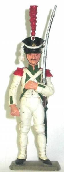 Starlux - Napoleonic - Footed Grenadier - Parade dress white uniform 1807 (ref 261/8063/FH60220)