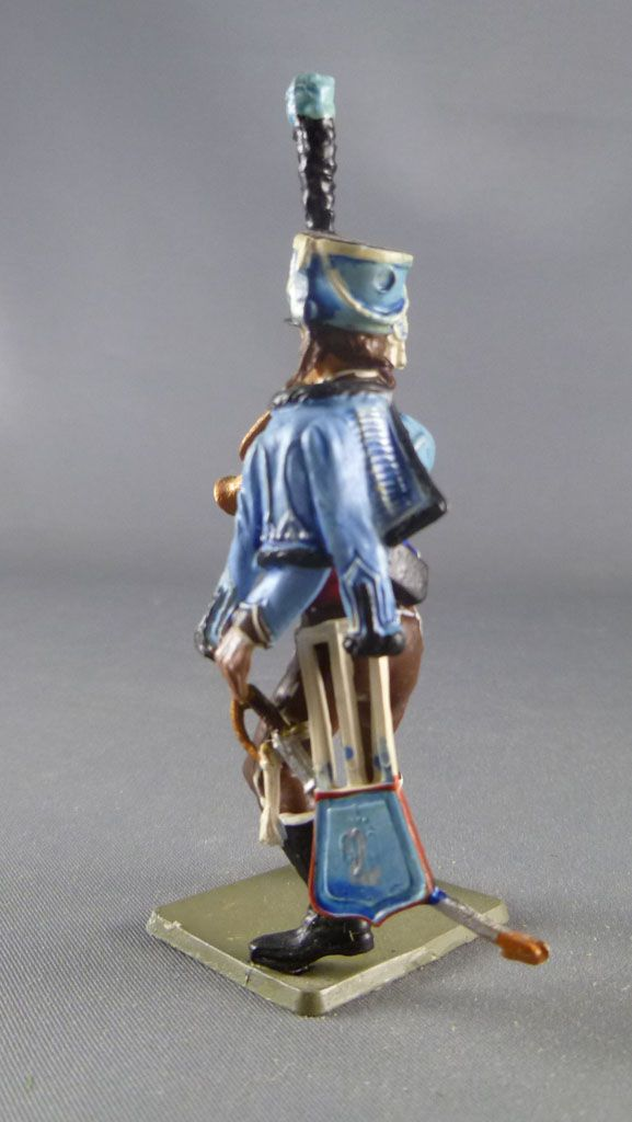 Starlux - Napoleonic - Footed Hussard - 2sd rgtTrumpet (ref 328/SES18/FH60317)