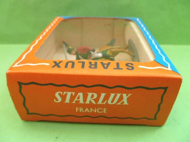 Starlux - Napoleonic (Miniature 40mm) - Mounted Chasseur (Mint in Box) (ref M 8106)
