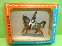 Starlux - Napoleonic (Miniature 40mm) - Mounted Dragon (Mint in Box) (ref M 8105)