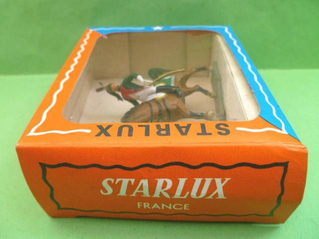 Starlux - Napoleonic (Miniature 40mm) - Mounted Dragon (Mint in Box) (ref M 8105)