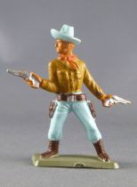 Starlux - Nestlé Kohler - Cow-Boys - Footed with 2 pistols N° 132