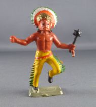 Starlux - Nestlé Kohler - Indians - Footed Medecine man with war mask N° 32