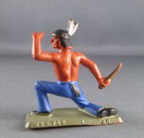 Starlux - Nestlé Kohler - Indians - Footed watcher kneeling N° 40