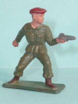 Starlux - Paratroopers - Serie Luxe - Bazooka servant (khaki) (ref 5062)