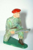 Starlux - Paratroopers - Serie Luxe - Fighting machine gun servant (ref 5065)