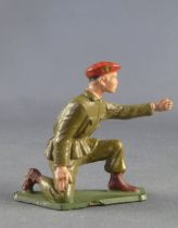 Starlux - Paratroopers - Serie Luxe - Fighting mortar shooter (khaki) (ref 5066)