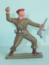 Starlux - Paratroopers - Serie Luxe - Grenade thrower (khaki) (ref 5069)