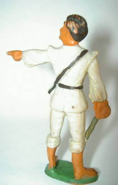 Starlux - Pirates Series 54 -  ref 265 - chief giving orders (grey)