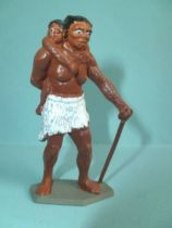 Starlux - Prehistory - Humans - Female walking with child (ref  PH104 / FS40012)
