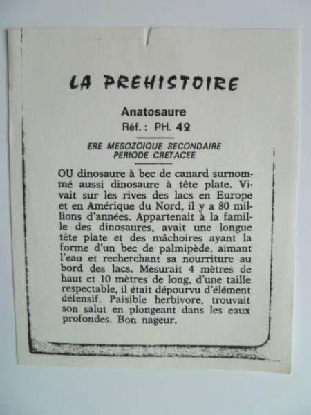Starlux - Prehistory Notice - Anatosaurus (ref PH42)
