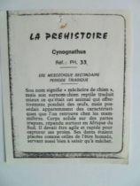 Starlux - Prehistory Notice - Cynognathus (ref PH33)