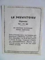 Starlux - Prehistory Notice - Glyptodon (ref PH64)