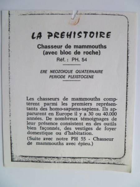 Starlux - Prehistory Notice - Homo-sapiens with stone (ref PH54)