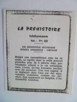 Starlux - Prehistory Notice - Ichthyosaurus (ref PH23)