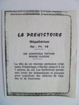 Starlux - Prehistory Notice - Mégatherium (réf PH19)