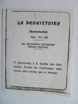 Starlux - Prehistory Notice - Monoclonius (ref PH37)