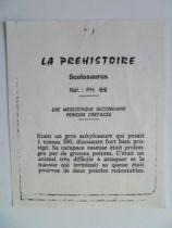 Starlux - Prehistory Notice - Scolosaurus (ref PH62)