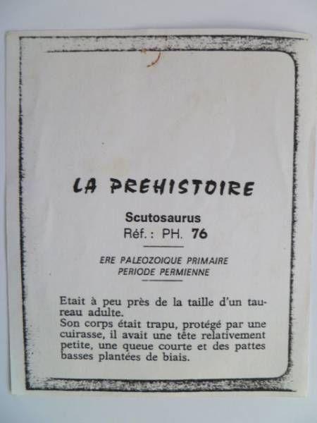 Starlux - Prehistory Notice - Scutosaurus (réf PH76)