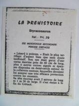 Starlux - Prehistory Notice - Styracosaurus (ref PH70)