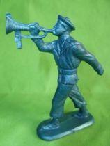 Starlux - Sailors - Serie Luxe (Soft plastic, blue color) - Marching trumpett (réf 5049)
