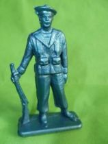 Starlux - Sailors - Serie Luxe (Soft plastic, blue color) - Standing on guard (ref 5046)