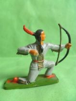 Starlux - Sioux Series Regular 57 - Footed Bowman kneeling (grey) (ref 164)