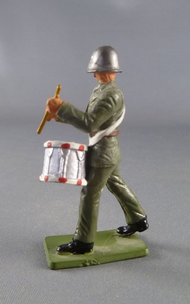 Starlux - Switzerland Army - Footed Marching Drum (ref AH102)