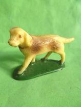 Starlux - The Farm - Animals - Dog N°1 (ivory) (series 53/54 ref 537)