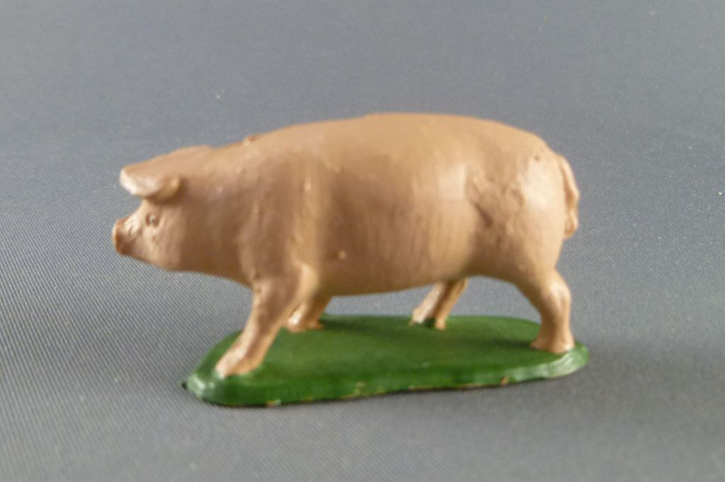 Starlux - The Farm - Animals - Pig  (series 53/54 ref 522)
