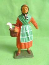 Starlux - the farm - Far woman basket with goos (Series 65/66 513bis)