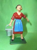 Starlux - The Farm - Farm woman with bucket (series 59 ref 509)