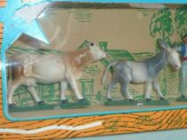 Starlux - The Farm - Mint boxed set farmer & animals