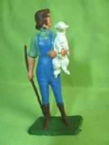 Starlux - The Farm - Young Far woman with lamb (Series 65/66 515)