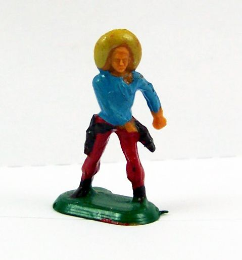 Starlux 20mm (1/87°) - Wild West Cow-Boys - Hand on pistol (Ref 3129)
