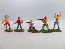 Starlux 20mm (1/87°) - Wild West Cow-Boys -Set of five figures