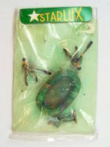 Starlux 30mm (1/55°) - Army - Commando Boat with 2 soldiers & Frogman Mint in bagie (ref 1352)