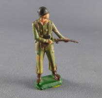 Starlux 30mm (1/55°) - Army - Commando charging rifle on side (ref 1325)