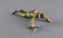 Starlux 30mm (1/55°) - Army - Commando crawling with MP (ref 1334)