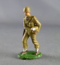 Starlux 30mm (1/55°) - Army - Infantry carrying rocket white leggins (ref 1085)