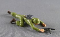 Starlux 30mm (1/55°) - Army - Infantry crawling mp on side (ref 1100)