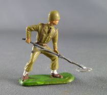 Starlux 30mm (1/55°) - Army - Infantry Mines Detector white leggins (ref 1083)